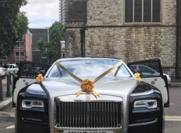 Rolls Royce Ghost for weddings in London